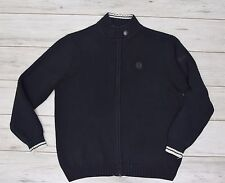 FRED PERRY BLACK JUMPER size M medium