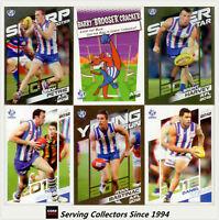 2012 Herald Sun AFL Trading Cards Base Card Team Set Nth. Melbourne(12)