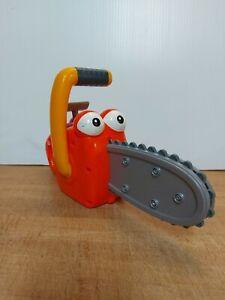 Disney Handy Manny Ripp Chainsaw Toy Used Working Htf