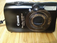 Canon PowerShot Digital ELPH SD990 IS / FOR PARTS OR REPAIR- AS IS
