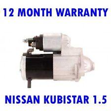 NISSAN KUBISTAR 1.5 DCI 2003 2004 2005 2006 2007 - 2015 RMFD STARTER MOTOR