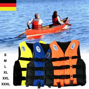 Kinder & Erwachsene Rettungsweste Schwimmweste Life Schwimmhilfe Gr. S-3XL DHL
