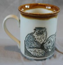 Vintage Cats Kittens Coffee Mug Biltons Made in England Cup Retro Decor