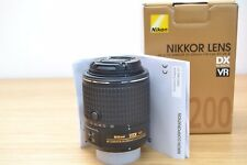 Nikon Nikkor AF 55-200mm F/4-5.6 AF-S DX ED VR II Retail Box - 3 Year Warranty