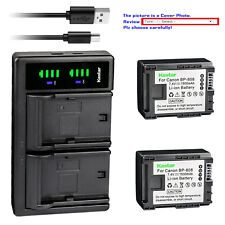 Kastar Battery LTD2 Charger for Canon BP-808 CG-800 & Canon FS20 FS21 Camcorder