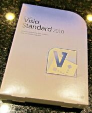 Microsoft Visio Office Standard 2010 Full Retail DVD ROM w/ product key Genuine