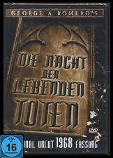 DVD DIE NACHT DER LEBENDEN TOTEN - GEORGE A.ROMERO - HORROR - ORIGINAL UNCUT NEU
