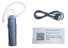 Plantronics Explorer 110 Bluetooth Earhook Smartphone Universal Headset Black