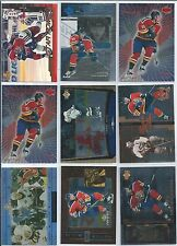 Pavel Bure  35-Lot Inserts Parallel Oddball Subset  Lot 2