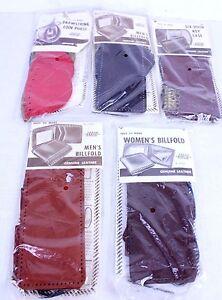 Leather Billfold Wallet Coin Purse Key Case Kits Mens Ladies Arrow Vtg Lot Of 5