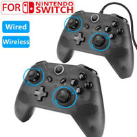 Wired/Wireless Pro Controller Gamepad Joypad Remote for Nintendo Switch Console