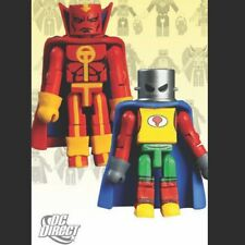DC MINIMATES Series 5 RED TORNADO & MA HUNKEL - Mint/New in Sealed Packaging!