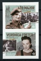 Canada Military Stamps 2020 MNH WWII WW2 75th Anniv Veronica Foster 2v S/A Set