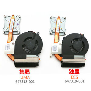 Laptop Cpu Cooler Fan 647319-001 647318-001 Cpu Cooling Fan With Heatsink