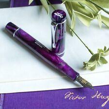 Conklin Duraflex Truphae Limited Edition Nightfall Purple Swirl Fountain Pen