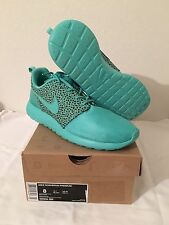 Men's Nike Roshe Run Premium Safari Mint Size 8 (525234 300)