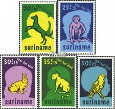 Suriname 794-798 (complete issue) unmounted mint / never hinged 1977 Pets