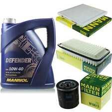 Motor-Öl 5L MANNOL Defender 10W-40 +MANN-FILTER für Toyota Vios/Yaris ZSP9_ 1.5