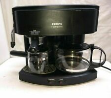 Krups IL Caffe' Duomo 4 Cup Coffee & Espresso Maker Machine Glass Carafe