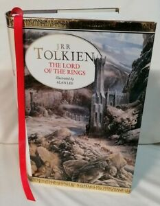 BOOK - The Lord Of The Rings Trilogy JRR Tolkien Illus. Alan Lee 1995 BCA HB D/J