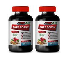 brain health supplement - BORON COMPLEX - testosterone booster & strength 2B