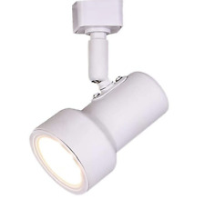 Hampton Bay White Integrated LED Linear Track Head Light Dimmable No Bulbs Req.