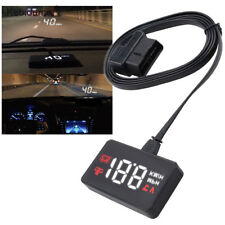 Car HUD Head Up Display A100 OBD2 II EUOBD Overspeed Warning System Projector