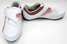 Puma Shoes Drift Cat 3 Strap Laceless White/Red Sneakers Size 5.5 EUR 37.5