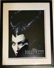 "Disney Maleficent Framed Matted Poster Angelina Jolie 11""x 17"" High Resolution"