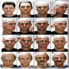 Funny Bald Head Fancy Skinhead latex Skin film  Party Dress  Wig Cap Fake Unisex