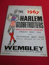 More details for the 1967 harlem globetotters programme wembley empire pool may 12th - 20th