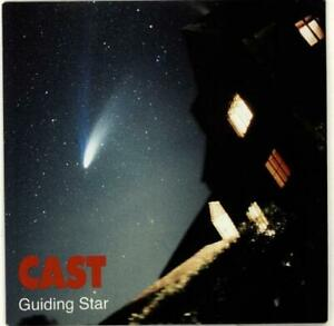 """Cast – Guiding Star. 7"""". Picture Sleeve. New"""