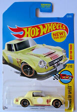 Hot Wheels Datsun Fairlady 2000 Diecast Car, First Edition 2017, New on Card