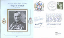 CDR11a RAF MRAF Sir John Slessor double signed cover