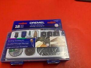 Dremel EZ Lock EZ Drum Sanding/Grinding Kit 18 Pieces EZ686-01 NEW