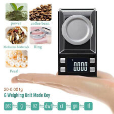 20g/0.001g Precision Mini LCD Electronic Digital Scales Jewellery Gold Weighing
