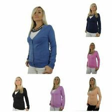 Damen-Pullover & -Strickware aus Polyamid mit Knöpfen für L
