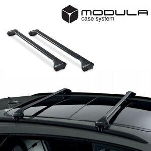 MODULA CS OVAL BAR Design Dachträger für VW TOURAN 3 - Offene Reling - 2015+