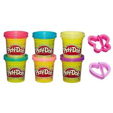 Hasbro Play-Doh Glitzerknete, Kneten