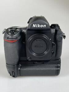 Mint Nikon F6 Body, USA Nikon With MB-40 Grip, En-EL4 Battery, Charger