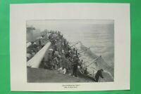 UM4) Marine Torpedo Schutznetz Schlachtschiff Matrosen 1914-1918 Kriegsschiff WK