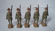 Postwar Australia New Zealand Troops At Slope 1542/44 - EX Condition 5 Troops
