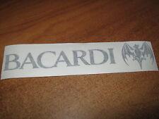 BACARDI - VINYL STICKER - IN BLACK - NEW