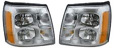 DAMON CHALLENGER 2010 2011 2012 SET PAIR HEAD LIGHTS FRONT LAMPS HEADLIGHTS RV