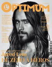 L'Optimum magazine,Jared Leto 30 Seconds to Mars NEW