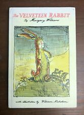 THE VELVETEEN RABBIT Doubleday Hardcover First Edition 8th Printing