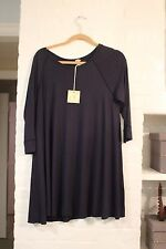 BRAND NEW with TAGS Comfy USA NAVY BLUE Modal Tunic Top Sz M FLATTERING