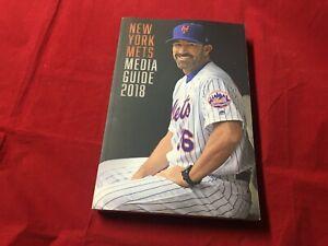 2018 New York Mets Baseball Media Guide MINT