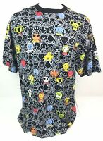 NWT Dtek Creatures Animals Multi Color All Over Print SS T Shirt Mens 2XL