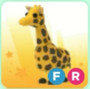 Adopt me - Giraffe with Fly and Ride - FR - Roblox - Legendary Pet 🦒🦒